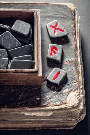 Old runestones omen made of Celtic language