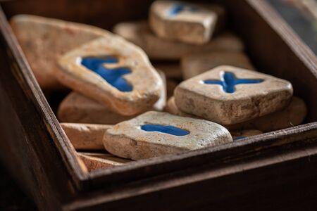 Original runestones omen based on antique scrolls