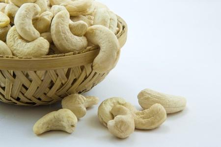 anacardo: anacardos en la cesta