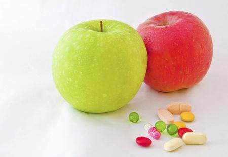 健康対薬 写真素材