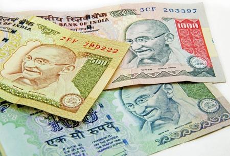 インドの通貨 写真素材