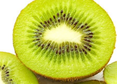 Closeup of Kiwi fruit