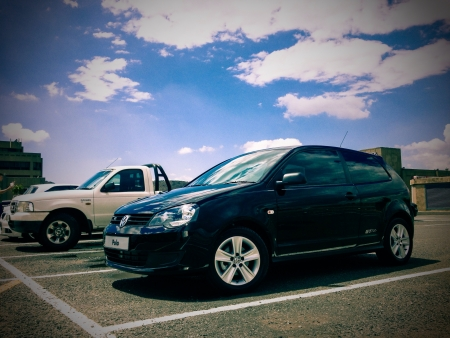vivo: Polo Vivo GT only in SA Stock Photo