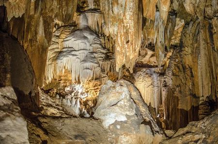Luravy Caverns Virginia USA Stock fotó
