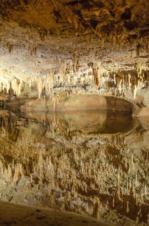 luravy Caverns Virginia USA Reklamní fotografie - 101442179