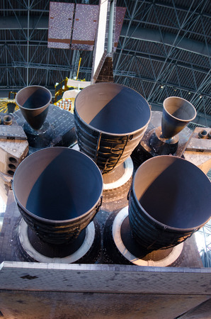 Space craft engines Imagens