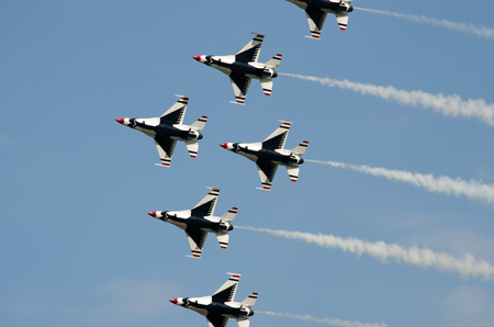 Air Show Andrews Base MD USA Editorial