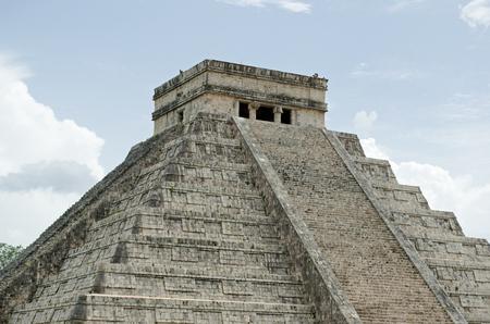 Chichen Itza Pyramid. Site, heritage