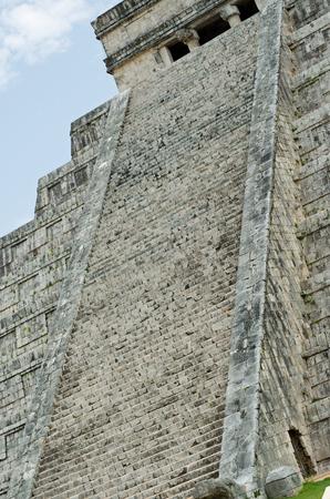 Chichen Itza Pyramid. Site, world Reklamní fotografie