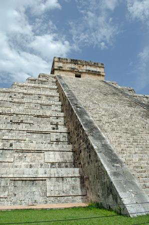 Chichen Itza Pyramid. State, world