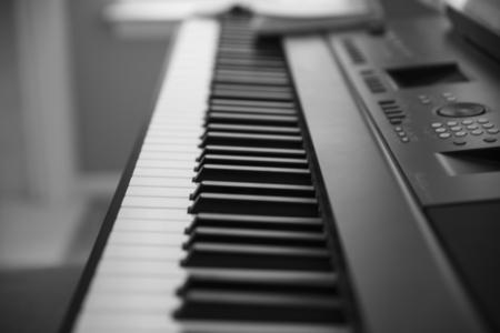 keys of a piano