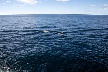blue sky and sea Stock Photo