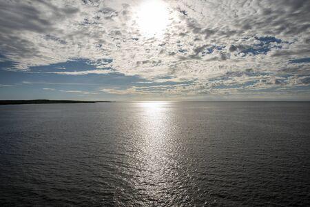 sunrise over the sea Stock Photo