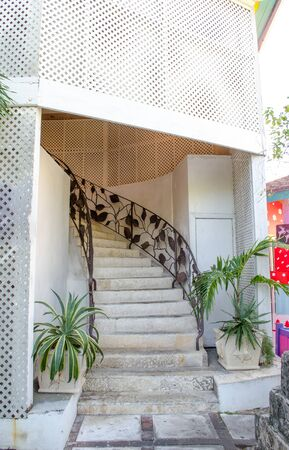 staircase in the house Archivio Fotografico