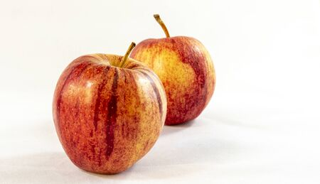 red apple isolated on white background Archivio Fotografico - 150235690