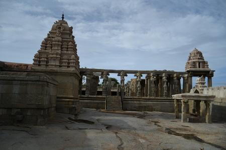 Veerabhadra Temple, Lepakshi, Andhra Pradesh, India Banco de Imagens