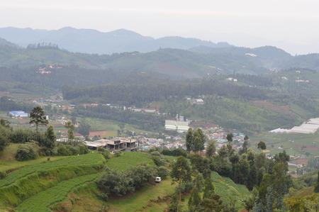 Ooty landscape, India Stock Photo