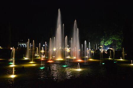 Brindavan Gardens, Mysore Stock Photo - 86945906