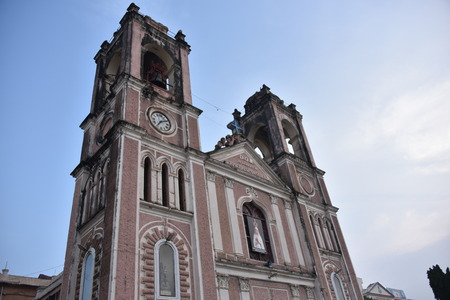 easter cross: St Josephs Cathedral, Hyderabad