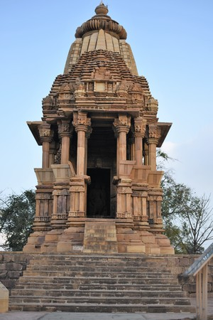 Chaturbhuja temple, Khajuraho, India Stock Photo
