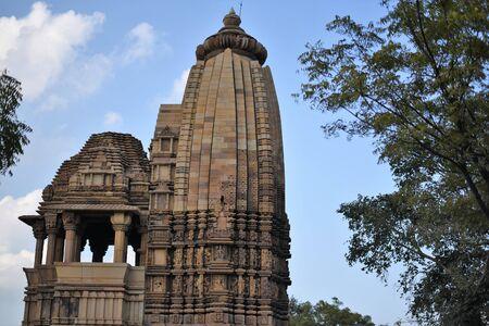 Chaturbhuja temple, Khajuraho, India Stock Photo