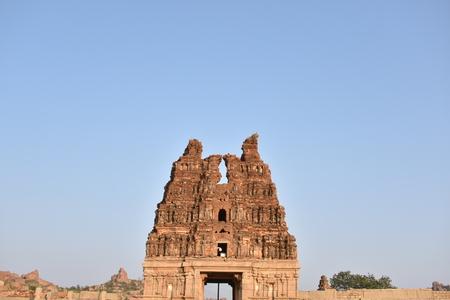 Vijay Vittala temple, Hampi, Karnataka, India Stock Photo