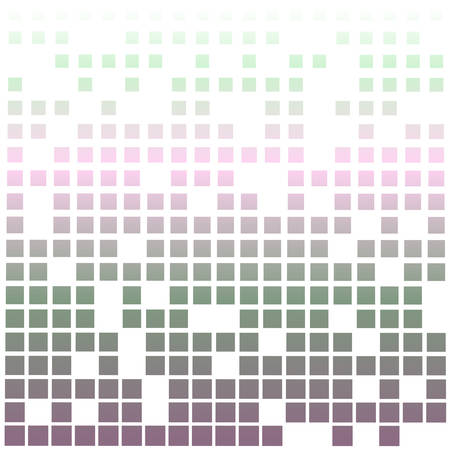randomly: abstract color background with randomly skiped squares Illustration