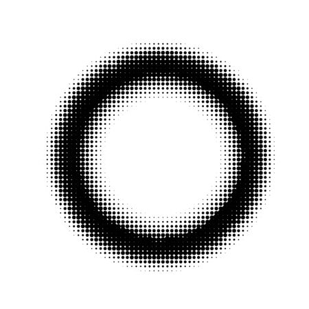 abstract halftone circle background. black design element Illustration