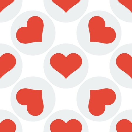 seamless heart pattern background. Design vector illustration