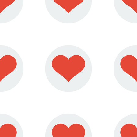 seamless heart pattern background. Design vector illustration
