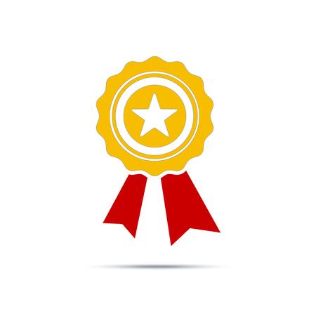 Best first prize won icon. Design vector element