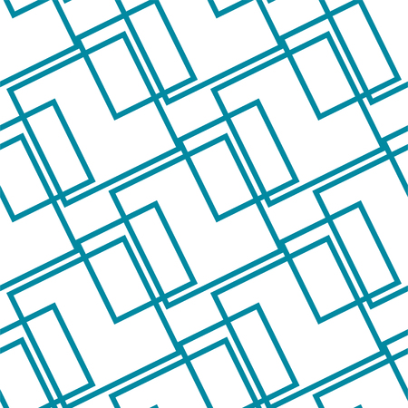 Abstract blue seamless pattern, minimal geometric background. repeatable texture. Vecteurs