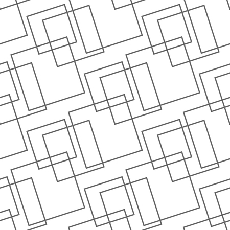Abstract blue seamless pattern, minimal geometric background. repeatable texture. Vektorové ilustrace