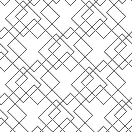 Modèle sans couture bleu abstrait, fond géométrique minimal. texture reproductible. Vecteurs