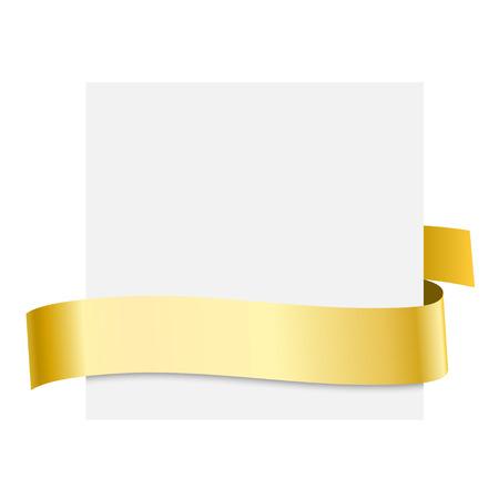 Golden Ribbons - Vector Elements for your design