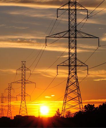 power transmission Stock fotó