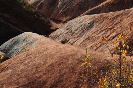 iron oxide: Cheltenham Badlands