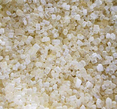Close up of brown sugar cubes.Closeup of granulated brown sugar cubes. Stockfoto