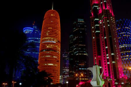 background image of qatar capital city capital city