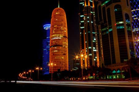 background image of qatar capital city capital city Stock fotó - 150592610