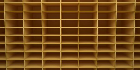 Background 3d rendered in the form of rectangular cells.