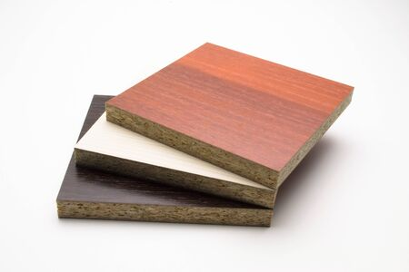 laminated boards for furniture of different colors Stok Fotoğraf