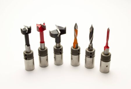 Drills and cutters for a boring-additive machine for assembling