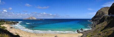 Makapu'u Beach, Oahu, Hawa� Banque d'images