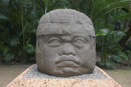 tabasco: Colossal Olmec head
