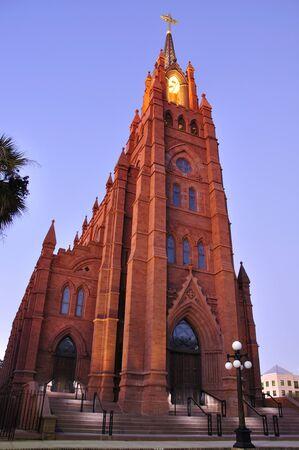 Cathedral of Saint John the Baptist in Charleston, South Carolina photo
