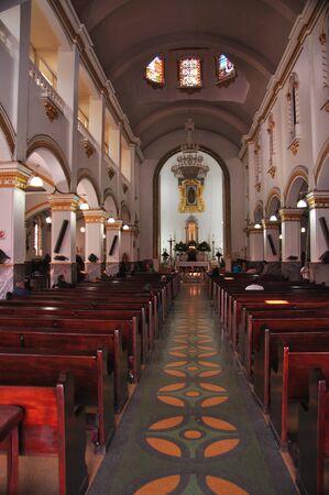 Interior of catholic cathedral in Tijuana, Mexico Redakční