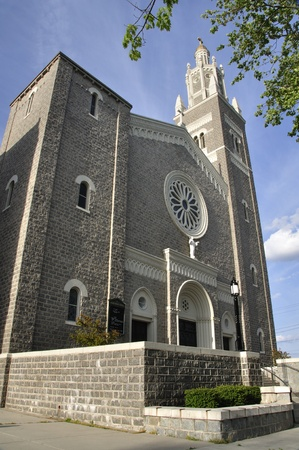 sacred heart: Exterior of Sacred Heart Catholic church in Vineland, New Jersey