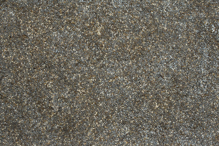 high angle view: Background high angle view of thousands of hydrated chia seeds soaking Stock Photo