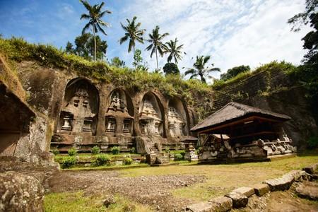Beautiful Gunung Kawi Temple at central Bali